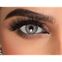 Roseel Colored Cosmetic Contact Lenses - Light Grey