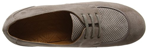 Chie Mihara Unlazo, Brogues Femme Beige (ante Taupe-punti Taupe)