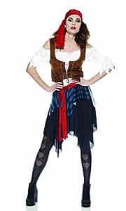 Rubie's IT30404-M - Piratessa Costume, Adulto, Taglia M
