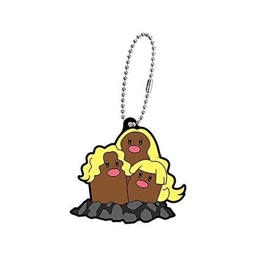 Pokemon XY Netsuke Mascot~Mobile Phone Charm Strap659 Horubii Bunnelby Scoppel Sapereau 36mm