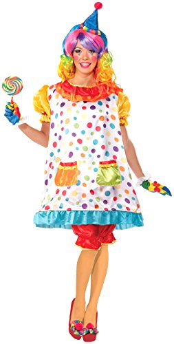 Wiggles The Clown Women's Adult Costume -