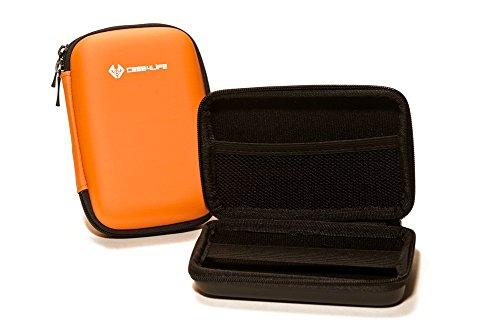 Case4Life Orange Stoßfest Hardcase Kameratasche für Panasonic Lumix DMC-TZ100, DMC-3D1, DMC-FT5, DMC-TZ40, DMC-TZ57, DMC-TZ60, DMC-TZ70, DMC-TZ80EB, TZ90 - Lebenslange Garantie