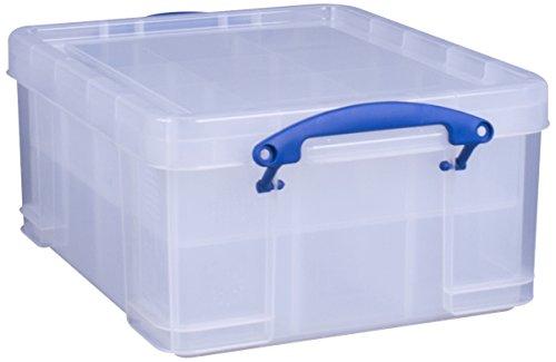 Really Useful Box, Fassungsvermögen 21 l, Transparent