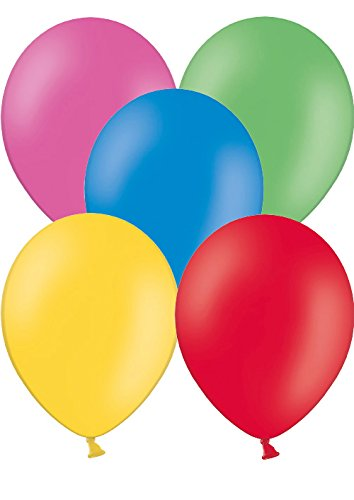 500 Luftballons Ø 28 cm Farbe frei wählbar Ballons Helium Luftballon (Gemischt)