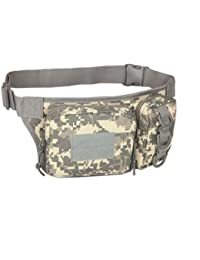 Generic Outdoor Sports Waist Bag 3P Molle Camouflage Phone Bag Utility Pack Pouch Camping Hiking - B07FQR57ZX