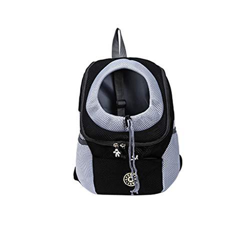 Herren Damen Unisex Rucksack Backpack Schultasche handbag, Multifunktionstasche Pet Carrier Rucksäcke Outdoor Doppel-Umhängetasche Pet Travel