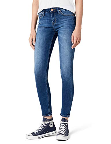 Lee Damen SCARLETT' Skinny Jeans, , Blau (Midtown Blues Haoe), 30W / 33L