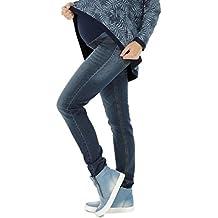 Schwangerschaftshose Jeans UmstandsHose Damen Hose Straight (32L & 36L)