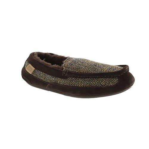 Just Sheepskin Zapatillas de estar Por casa Para Mujer, Color Marrón, Talla 10/11 UK