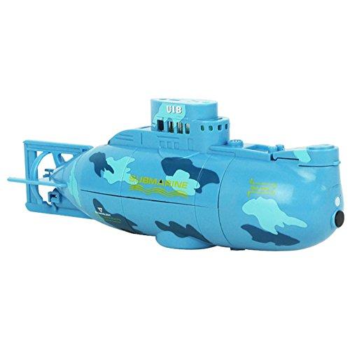 Zantec Jouets mini RC Toy électrique Télécommande bateau sous-marin bateau de plongée sous-marine étanche à l'eau cadeau pour les enfants pour enfants Noël Cadeau