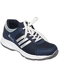 AVIVO Men's Blue And Silver Casual/Running Sports Shoes