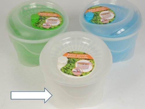 Salatschleuder, 23 cm, transparent