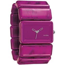 Nixon The Vega Ladies/Womens Watch Shocking Pink Marble