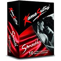 Kamasutra 10pc Pack Condoms - Smooth Condoms - Extra Lubricated - Naked & Discreet Pack(Ship from India) preisvergleich bei billige-tabletten.eu