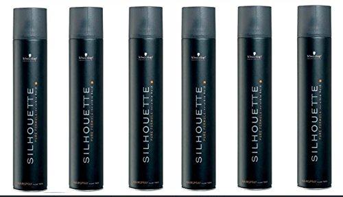 Schwarzkopf 6x Silhouette Super Hold Haarspray je 500 ml = 3000 ml