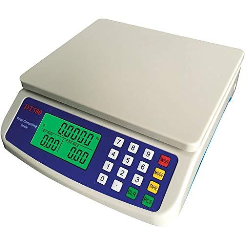 Modelo de producto: DT-580Material: plástico ABSRango: 10kg 15kg 25kg 30kgValor de graduación: 0.5g 1gTamaño de pesaje: 230 * 240 * 63 mmTamaño del plato de pesaje: 215 * 175 mmSelección de la unidad: kg, kgAlimentación: batería recargable de plomo d...