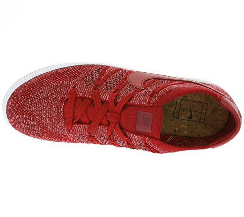Nike Tennis Classic Ultra Flyknit, Chaussures de Sport Homme Rouge - Rojo (Gym Red / Gym Red-Team Red-Sail)