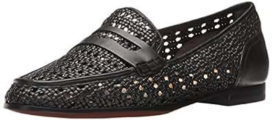 Sam Edelman Women's Leora Slip-on Loafer, Black, 5 M US