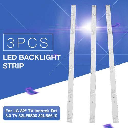 Heoolstranger 3PCS LED TV Backlights Strip Lights, Sustrato De Aluminio De Alto...
