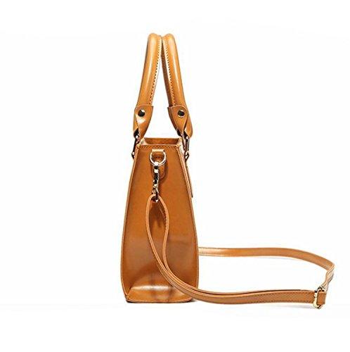 Schulterbeutelhandtaschen Einfache Beiläufige Art Und Weisedamenhandtasche Kurierbeutel Wild Blue