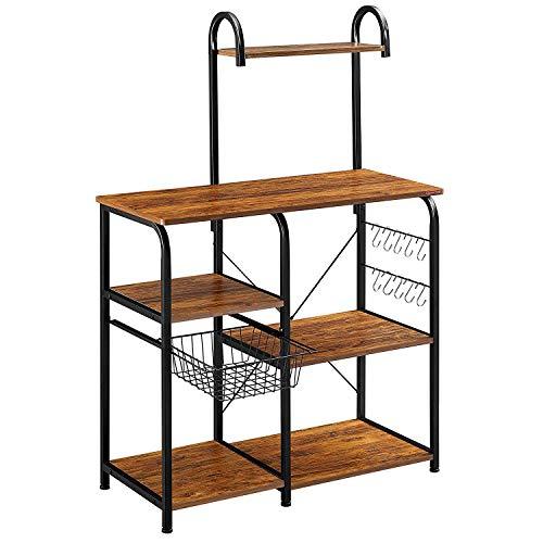 Baker Stand (Vintage Kitchen Baker's Rack Utility Storage Shelf 35.5