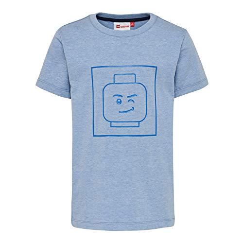 Lego Wear Jungen Lego Boy Tiger 321-T-SHIRT T-Shirt, Blau (Blue 558), (Herstellergröße: 128)