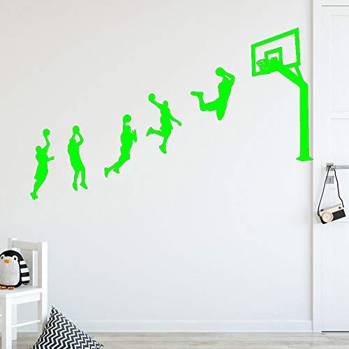 Preisvergleich Produktbild Zaosan Neue Basketball Spiel wandaufkleber persönlichkeit kreative kinderzimmer DIY Dekoration Kunst Dekoration tapete