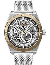 Hugo Boss Watch Hommes Squelette Automatique Montre avec Bracelet en Acier Inoxydable 1513657