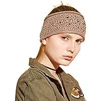 Yatoy Fascia per capelli da donna invernale in maglia di lana a0afd47b2133