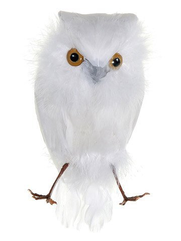 65-white-feathered-decorative-snow-owl-bird-figure-by-allstate