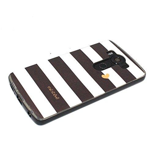 Voguecase® Pour Apple iPhone 6 Plus/6S Plus 5.5, 2 in 1 Hybride Flash Coque Au Cas De Appels Entrant LED Transparent Soft TPU Hard PC Etui Case Cover(pommetier 01)+ Gratuit stylet l'écran aléatoire un Stripe 06