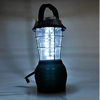 RDJM 2pieces 36LED solaire lampe de camping camping urgence lanterne Dynamo Lumière