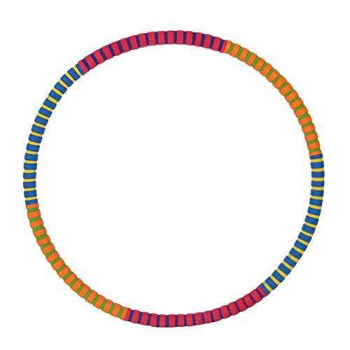 JUANLIAN Adulto Hula Hoop Body Shaping Cintura Delgada Abdomen Fitness Masaje Pegamento Hula Hoop
