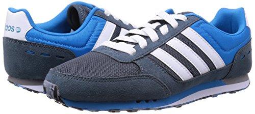 Adidas City Racer, Scarpe sportive, Uomo Grigio