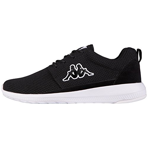 Kappa Unisex-Erwachsene Speed II Low-Top, Schwarz (1110 Black/White), 41 EU