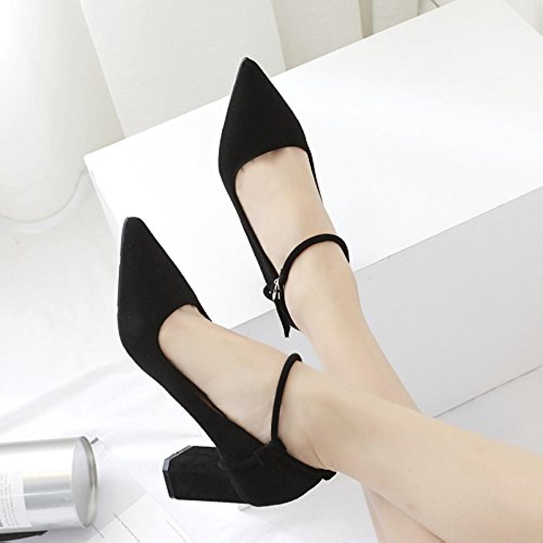 Die high-heel Schuhe Tipp single_bold mit satin Fuß Ringlicht Düsenspitze einzelne Schuhe Schuhe mit hohen Absätzenö