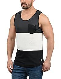 Blend Neo Camiseta Básica De Tirantes Tanque Tank Top con Cuello Redondo