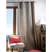 Lovely Casa Cortina opaca, algodón, lino, 240x 135cm