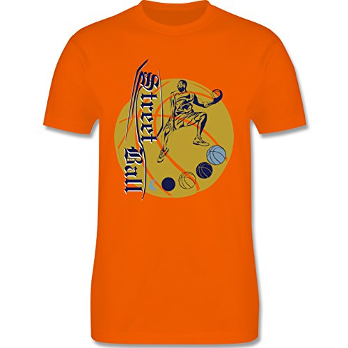 Basketball - Basketball - Herren Premium T-Shirt Orange