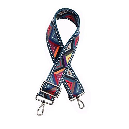 Umily Ajustable Universal Correa de Hombro Cinturón Bolsa Accesorios Bolso De Hombro Del Cinturón Recambio Desmontables Para Mujeres 75cm-135cm