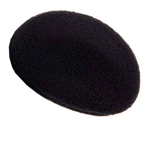 Earbags Fleece Ohrwärmer Mütze war gestern Standard Ohren Schützer, earbags fleece, Farbe schwarz, Größe M. (Mütze Fleece)