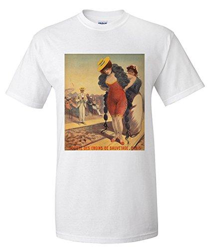 societe-des-engins-de-sauvetage-vintage-poster-artist-redon-georges-c-1890-premium-t-shirt