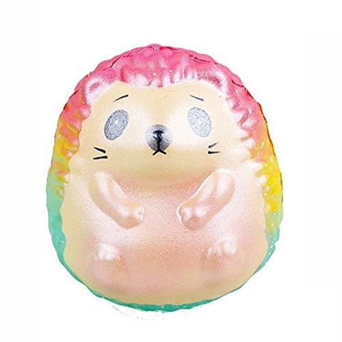ALIKEEY Squeeze Galaxy Hedgehog Lento Aumento De Descompresión Crema Perfumada Juguetes Playa Perros Gatos