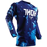 Maillot Cross THOR Pulse Air Tydy - Enfant - Bleu - Gamme 2017 - Taille M