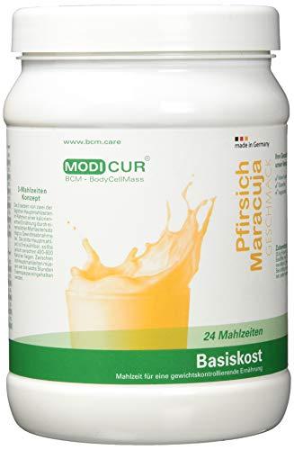 BCM Modicur Basis Pfirsich-Maracuja 1 Dose à 500g (24 Portionen/Eiweißshake/BCM BodyCellMass) -