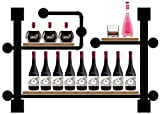 YLCJ Home Decoration creative bar of the wine industry of the back wall wine storage shelf