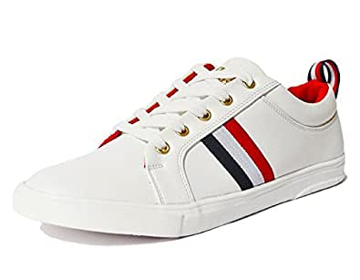 ... Rockfield Mens White Sneakers Shoes