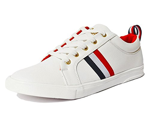 Rockfield Men's White Sneaker's Shoes (6)
