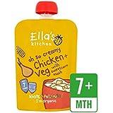Cuisine Poulet Et Maïs Doux Mash Organique Étape 2 De 130G De Ella - Paquet de 6