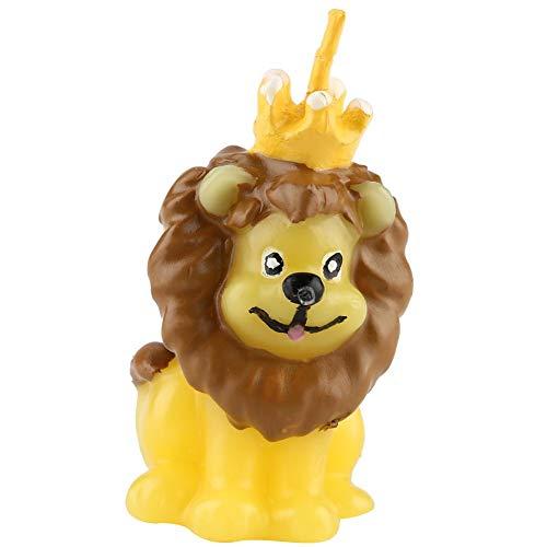 Natürliche Soja-votiv-kerze (Jeffergarden niedlichen Tier Löwe Kerze Wachs Hochzeit Geburtstag Kuchen Dekor Ornament)